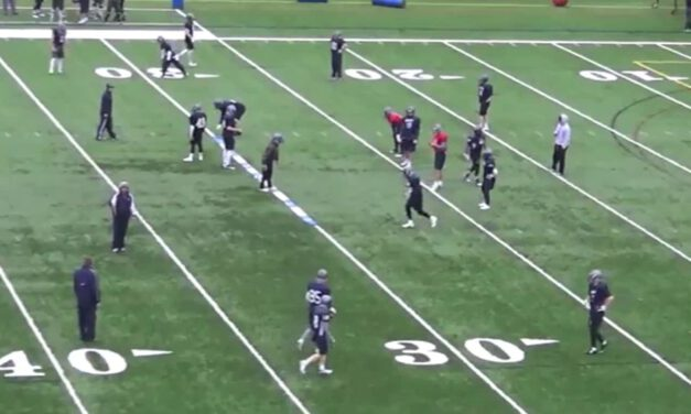 Roy Concept RPO Drill- St Anselm University (NH)