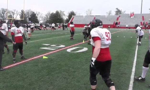 Shed and Tackle Drill- Catholic HS
