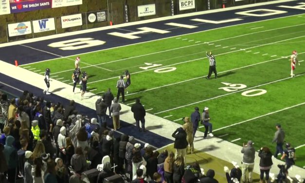 Split Field Coverage (3-High Safety Alignments)- Shiloh Christian High School (AR)