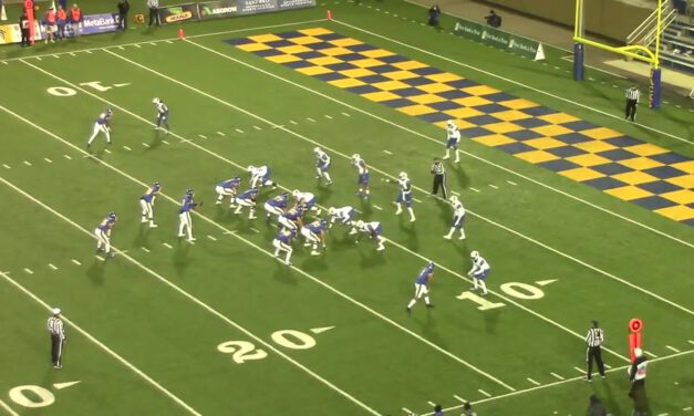 Split Mid-Zone Concept (30 Personnel Pistol Formation)- South Dakota State University
