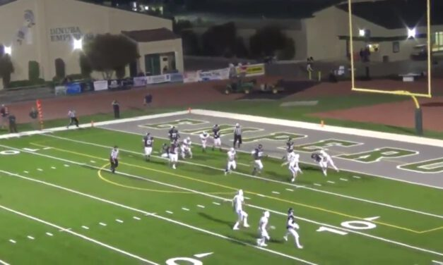 Three Deep, Two Under Pressures- Central Valley Christian HS (CA)