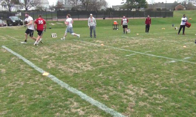 Two Man Peanut Drill (off run action)- Bridgewater College (VA)