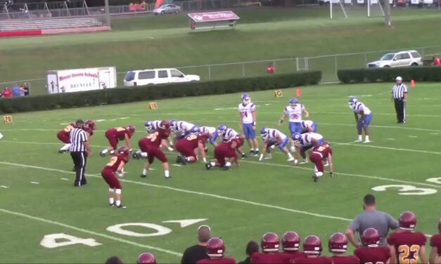 Unbalanced Offensive Concepts (3 Back Formations)- Mercer County HS (KY)