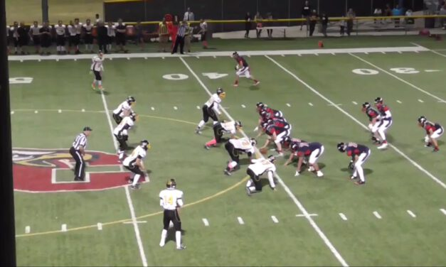 Wide Zone Run Concept (22 Personnel)- Scottsdale Christian Academy (AZ)