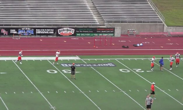 WR Fade Drill- Sam Houston State