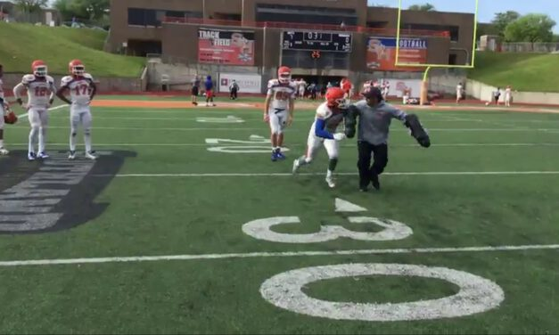 WR Look Away Drill- Sam Houston State