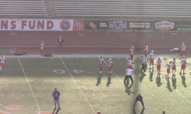 WR Speed Out Drill- Sam Houston State