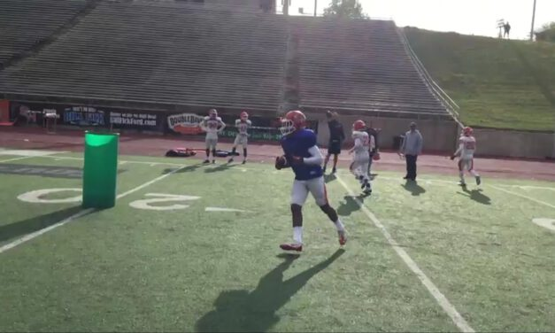 WR Zone Drill- Sam Houston State