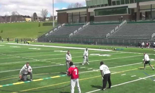 Zone Bubble RPO Drill- Morrisville State College (NY)