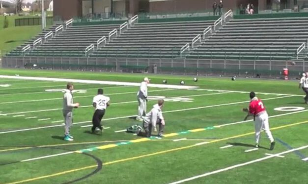 Zone TE Flat RPO Drill- Morrisville State College (NY)