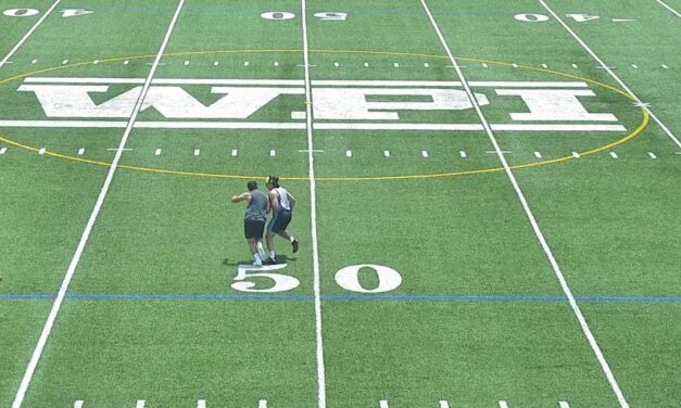 Stag and Lag Drill (Punt Return)- WPI (MA)