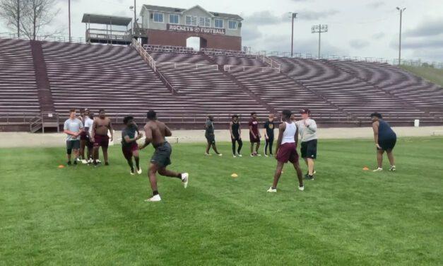 Blitz Peel Technique Drills- Gardendale High School (AL)