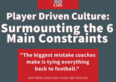 The Player Driven Culture System: Epilogue: Sustaining A Player-Driven Culture: Surmounting the 6 Main Constraints