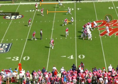 """""""RB First"""" Isolation Progressions in Pass Game"""