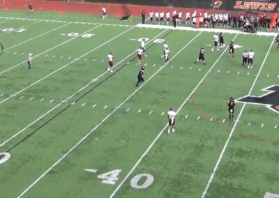 Empty Pass Concepts (vs 2 High Safeties)- University of Puget Sound (WA)