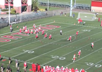 Double Post Concept (unbalanced formations)- Utica College (NY)