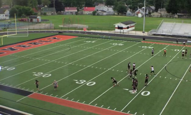 RPO Drills- Waverly High School (OH)