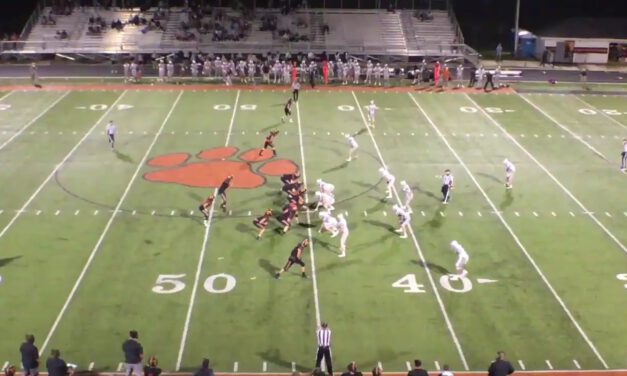 Boundary Out RPO Concept (vs 3-3 Stack)- Waverly High School (OH)
