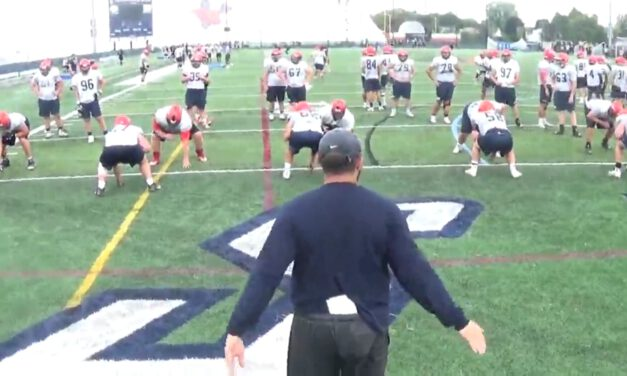 OL Set to Punch Drill- Utica College (NY)