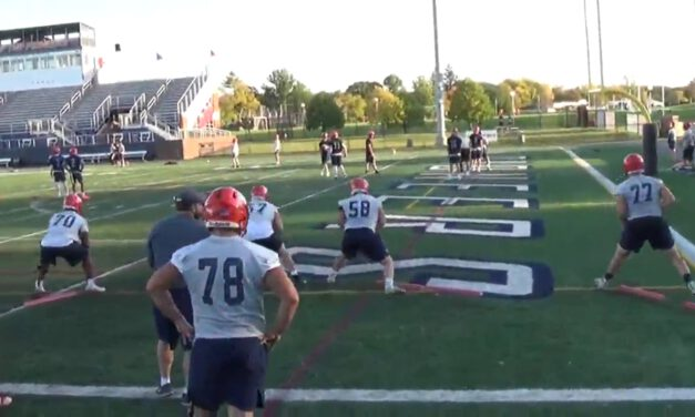 OL Pass Pro Drill on Boards- Utica College (NY)