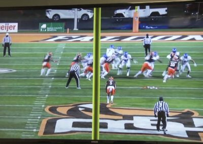 Play Side Guard Tech in Wide Zone (narrated)- University of Buffalo
