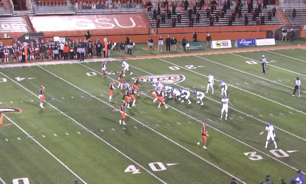 Wide Zone Concept (3×1 Closed Formations)- University at Buffalo (NY)
