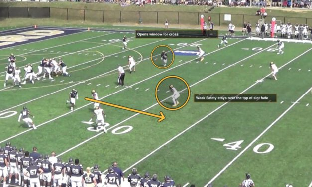 Targeting the Weakside Safety in the Y Cross Concept