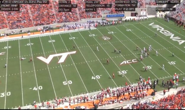 Va Tech Whip 2-Switch Coverage