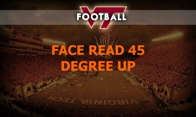 LB Face Read Drill- Va Tech