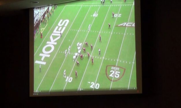 Defending Offensive Formation Analysis (narrated)- Bud Foster (Virginia Tech)
