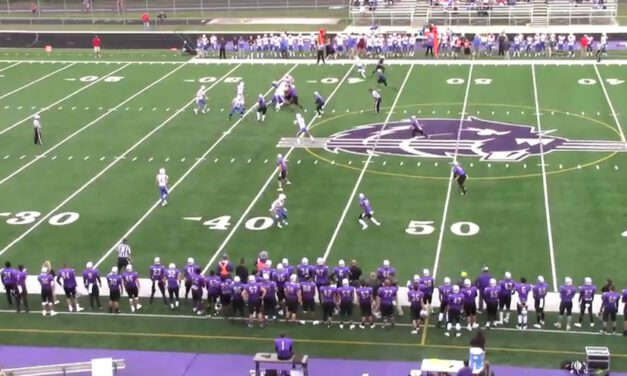 Read Coverage vs Trips (3-High Structure)- Bluffton University (OH)