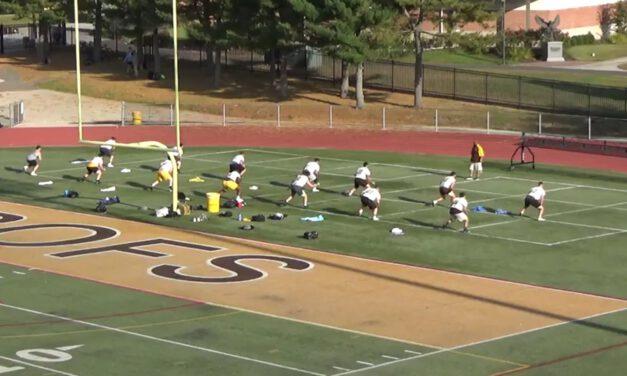 High Knee Drill (Gap Doubles)- Rowan University (NJ)