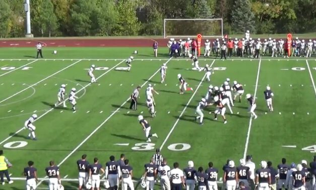 Drop 8 Coverage (3-High Structure)- Bluffton University (OH)