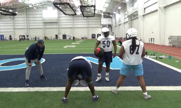 Hip Drill for Gap Combinations- Northwood University (MI)