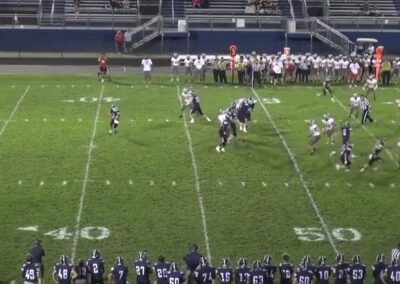 Sprint Out Concept (3×1 Rub Variation)- Parkersburg South HS (WV)