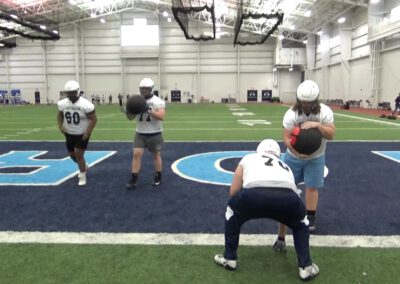 Trigger Step Drill (Gap Doubles)- Northwood University (MI)
