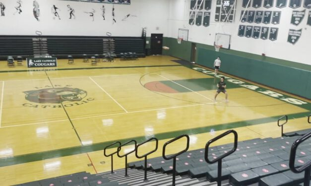Low Hole Defender Drill (3-High Alignments)- Lake Catholic HS (OH)