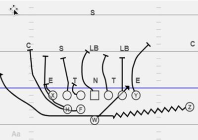 QB Run/Pass Packages From Wildcat Formations