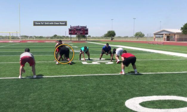Group Drills to Teach Cloudy vs. Clear Reads in Even Front