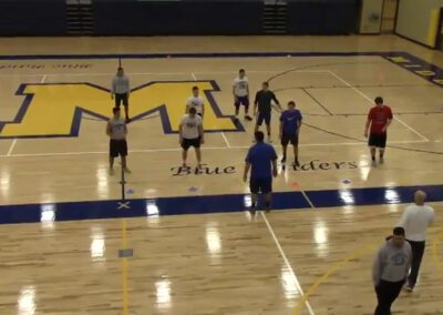 3-Under, 3-Deep Zone Pressure Drills (Full Catalog)- Middletown Area HS (PA)